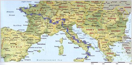 Touring Europe 2015 Michael Norma